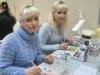Наталья Яковлева и Елена Дружинина на семинаре по китайской росписи
