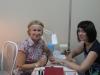 Ирина Уткина  на занятиях по японскому маникюру